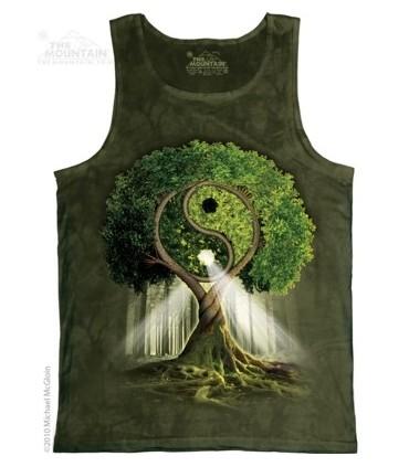 Yin Yang Tree - Tank Top The Mountain