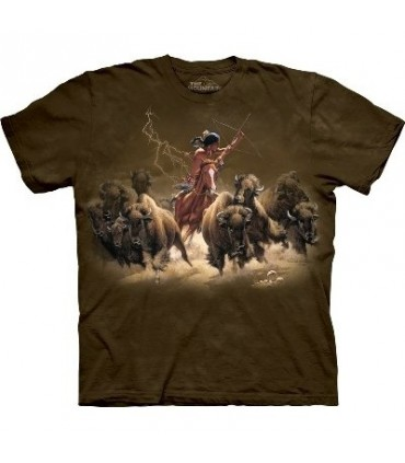 Flashes of Light - Indian T Shirt by the Mountain
