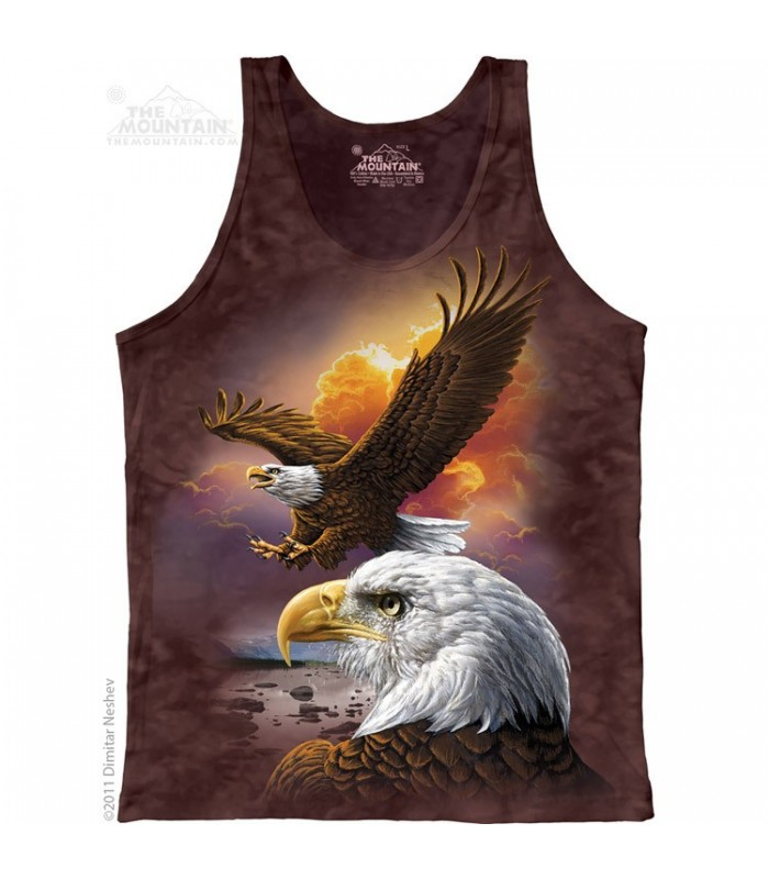 Eagle And Clouds - Tank Top The Mountain