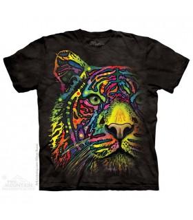 Rainbow Tiger - Big Cat T Shirt The Mountain