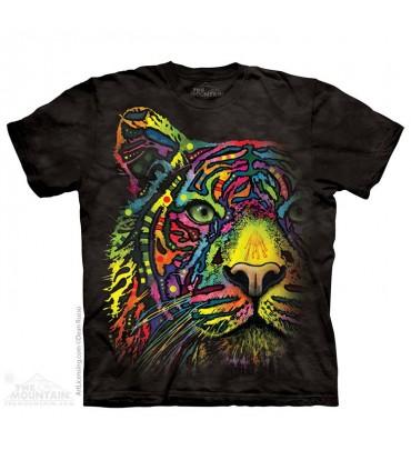T-shirt Tigre Arc-en-Ciel The Mountain