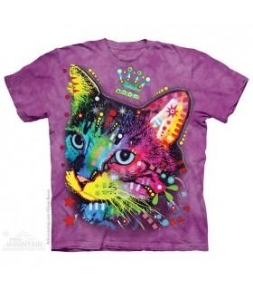 T-shirt Chaton Coloré The Mountain