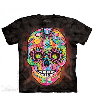 Day Of The Dead - Skull T Shirt The Mountain