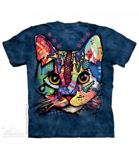 Chat Rapiécé - T-shirt Chat The Mountain