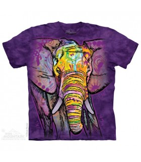T-shirt Elephant Coloré The Mountain