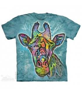 T-shirt Girafe Colorée The Mountain