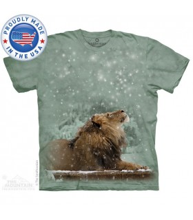 T-shirt Lion dans la Neige The Smithsonian