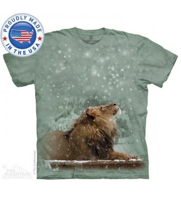 T-shirt Lion dans la Neige - Smithsonian