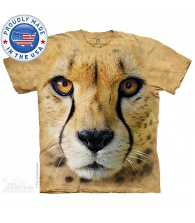 Big Face Cheetah - Big Cat T Shirt The Mountain