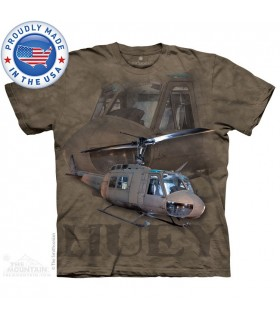 Huey - Helicopter T Shirt The Mountain