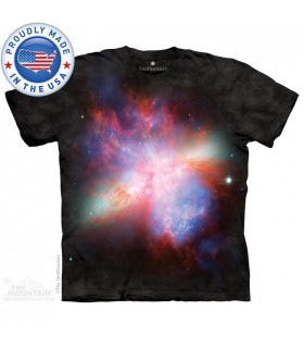 T-shirt Galaxie Messier 82 - Smithsonian