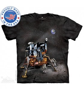 T-shirt Module Lunaire Apollo The Mountain