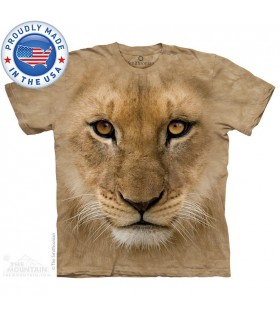 Big Face Lion Cub T-Shirt Smithsonian