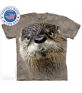 North American River Otter T-Shirt Smithsonian