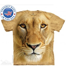 T-shirt Lionne The Mountain