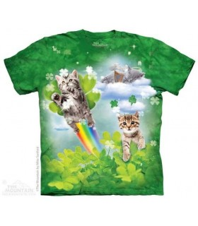 Chatons Féeriques - T-shirt Chat The Mountain