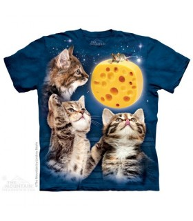 Lune Fromage - T-shirt Chaton The Mountain