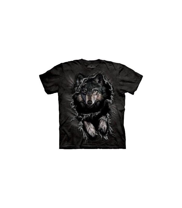 Breakthrough Wolf - Zoo Animals T Shirt by the Mountain