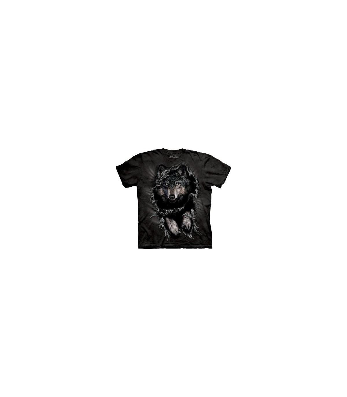 Breakthrough Wolf Zoo Animals T Shirt Child Unisex Mountain