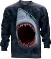 T-shirt manche longue Requin The Mountain