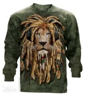 T-shirt manche longue DJ Jahman The Mountain