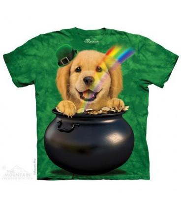 Pot O'Golden - T-shirt Chiot The Mountain