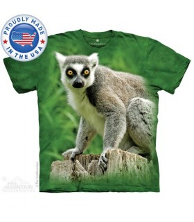Ring Tailed Lemur T-Shirt The Mountain
