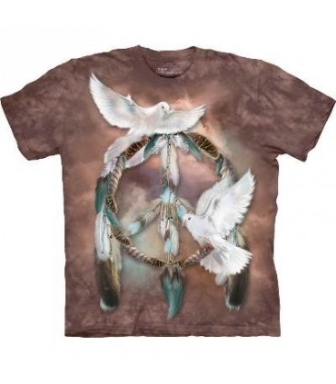 Dream of Peace - Native America T Shirt by the Mountain