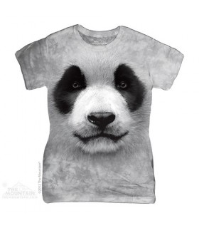 T-Shirt Femme Panda par The Mountain