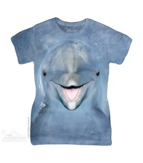 Dolphin Face Women's T-Shirt