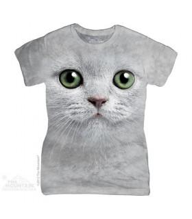 Green Eyes Face Women's T-Shirt