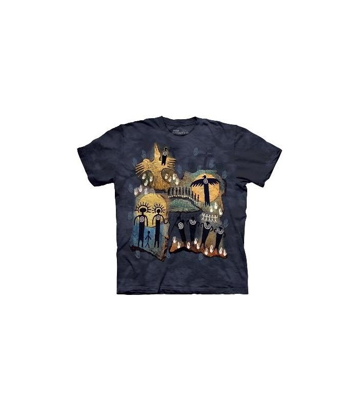 T-Shirt Vol du Chaman par The Mountain