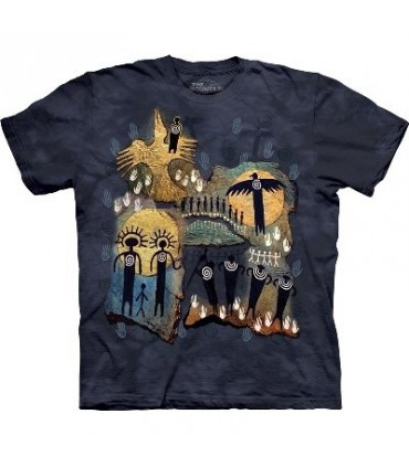 T-Shirt Vol du Chaman par The Mountain