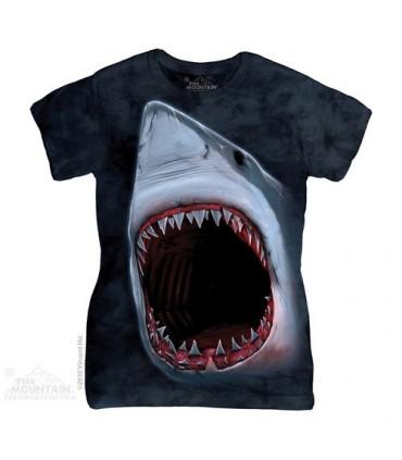 Shark Bite Women's T-Shirt The Mountain