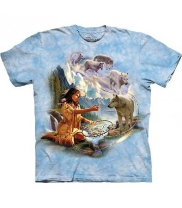 Dreams of Wolf Spirit - Indians Shirt