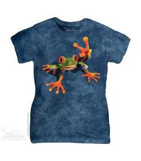 Victory Frog Women's T-Shirt The Mountain