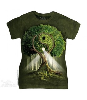 Yin Yang Tree Women's T-Shirt The Mountain