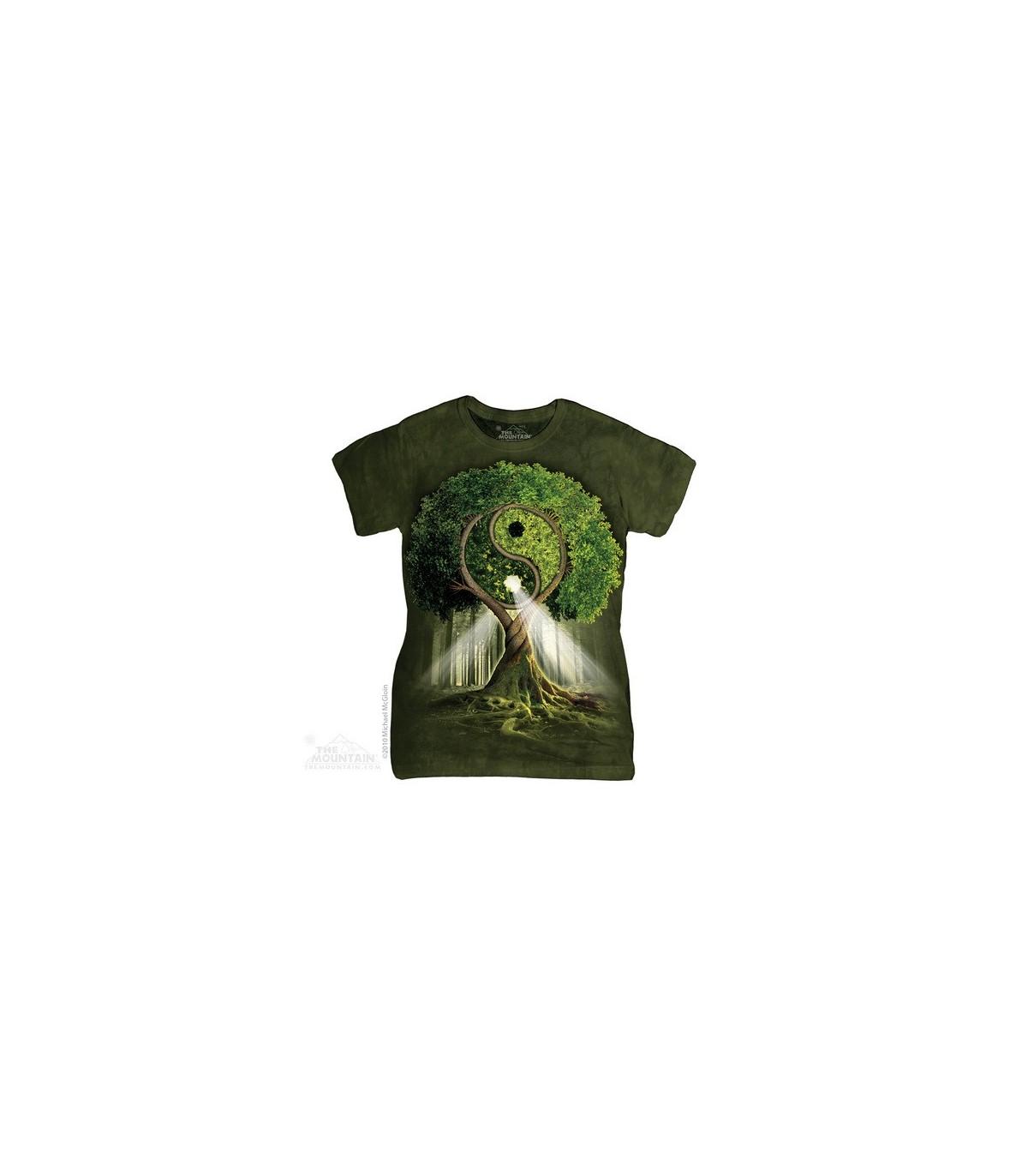 t shirt femme yin yang