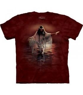 T-Shirt Reflets d'Or par The Mountain