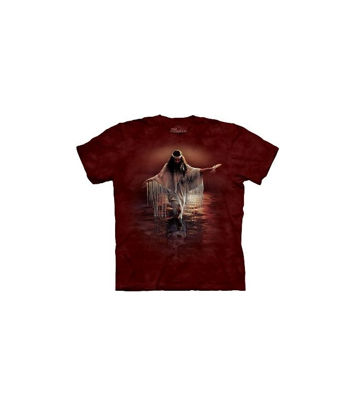 Golden Reflections Native Americans T Shirt by The Mountain
