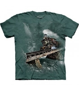 T-Shirt Locomotive 74 par The Mountain