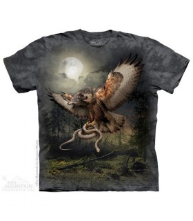 Two Headed Wolfalcon T-Shirt The Mountain