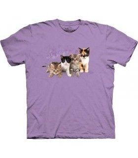 T-Shirt Chatons en ligne par The Mountain