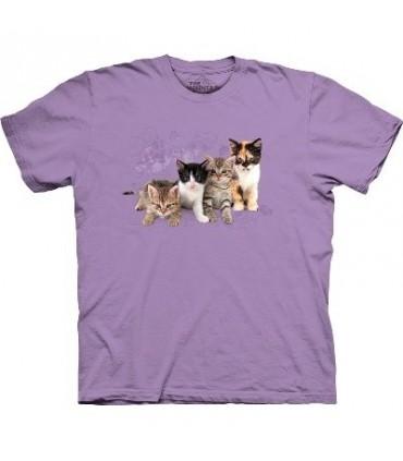 T-Shirt Chatons en ligne par The Mountain