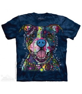 T-Shirt Pitbull Russo The Mountain