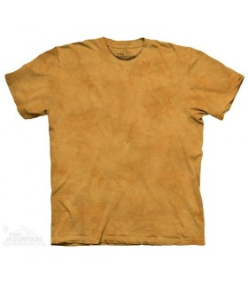 Yellow Gourd - Mottled Dye T Shirt The Mountain