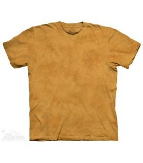 Yellow Gourd - Mottled Dye T Shirt The Mountain