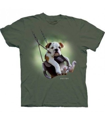 Buster - Dogs T Shirt by the Mountain