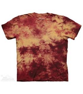 Gold Crimson Double - Bi Dye T Shirt The Mountain