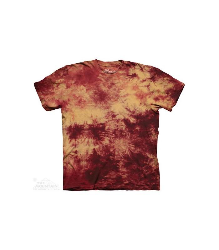 Cramoisi Or - T-shirt Tacheté The Mountain